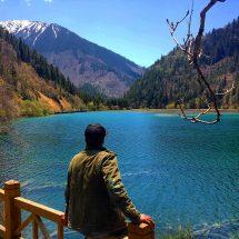 Jiuzhaigou Long lake