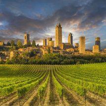 San Gimignano, Tuscany, Siena , Florence, Firenze, Monteriggioni