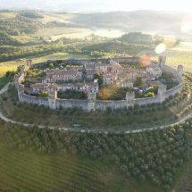 Monteriggioni, Tuscany, Siena