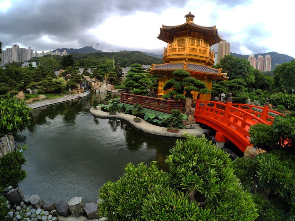 golden pavilion of absolute perfection nan lian garden hong kong - Nan Lian Garden