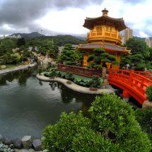 Golden Pavilion of absolute Perfection, Nan Lian Garden, Hong Kong