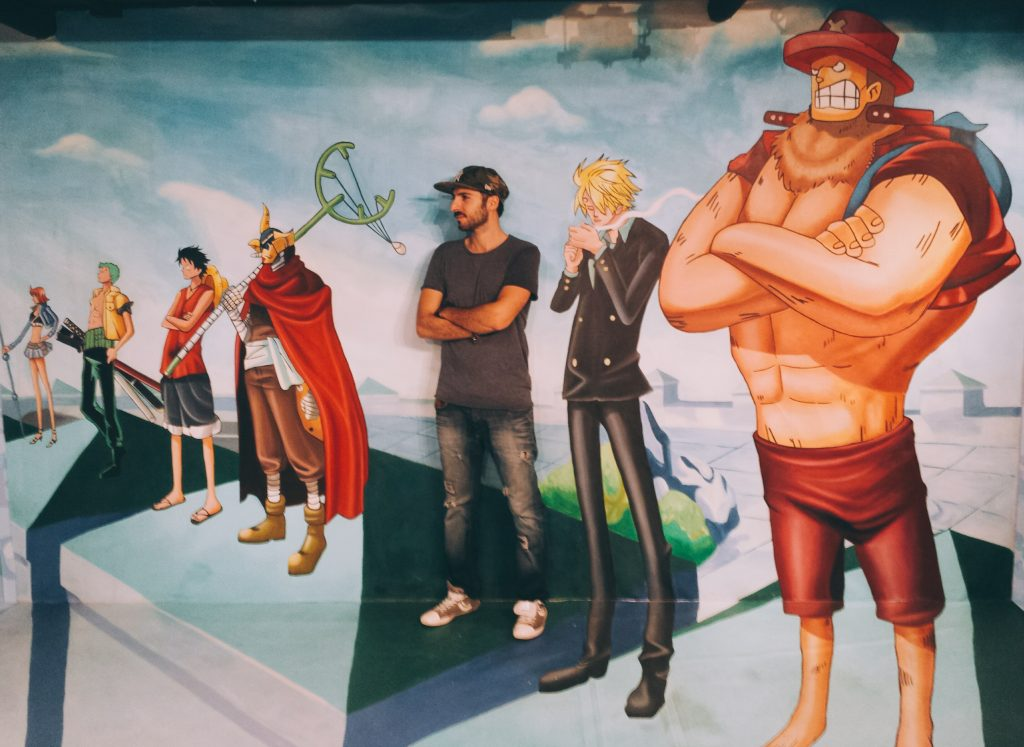 Enies Lobby...badass moment :) One Piece 3D Exhibition at Hong Kong 3D Museum