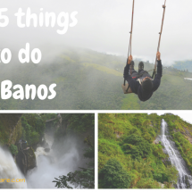 Banos-ecuador-things