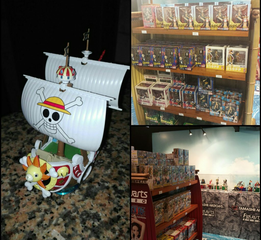 One Piece 3d Exhibition, Gift Shop at Hong Kong 3D Museum