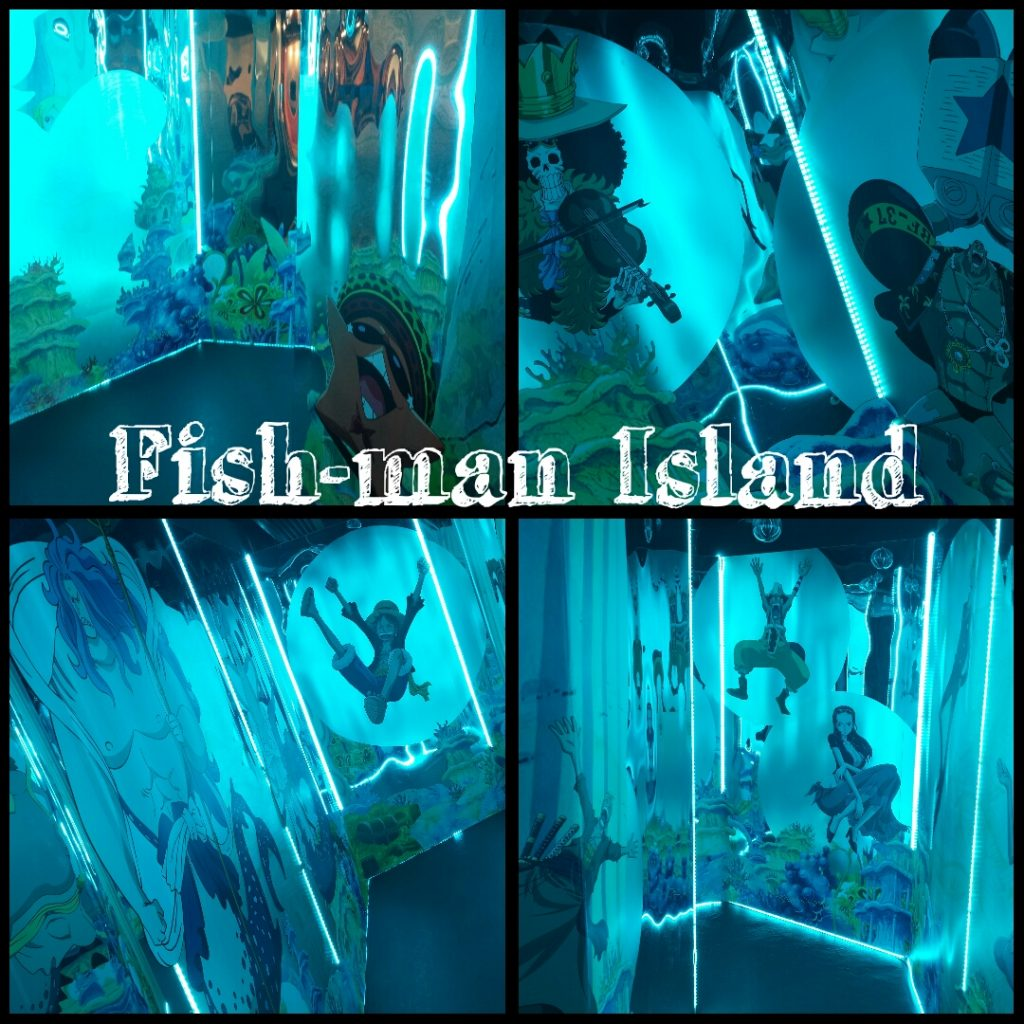 Fish-man Island in One Piece 3d exhibition at Hong Kong 3d Museum