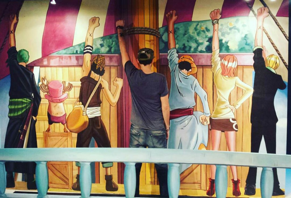 Straw Hats Leave Alabasta and Say Goodbye to Vivi One Piece 3d exhibition at Hong Kong 3d Museum